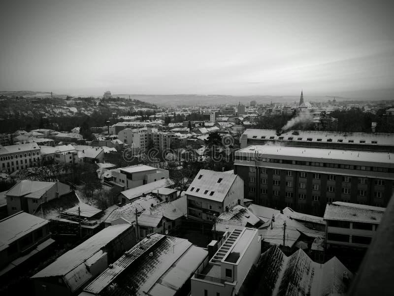 Zima przez mój oczu zdjęcia royalty free