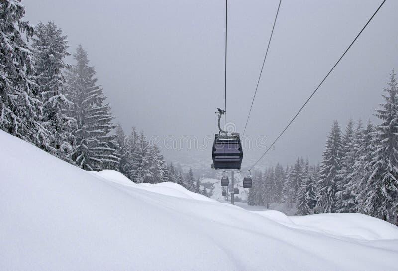Zima przy Sarajevo zdjęcie stock