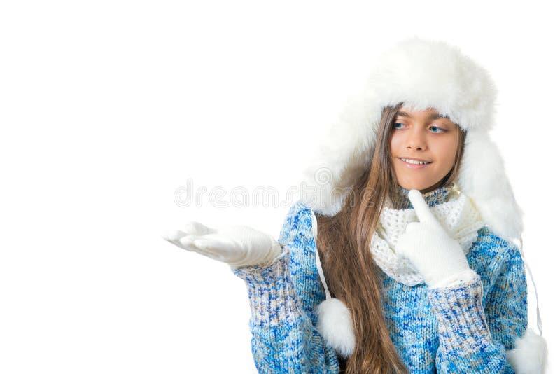 Zima rabaty miejsce tekst obrazy stock
