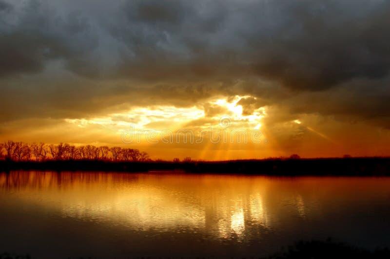 zima słońca zdjęcie royalty free