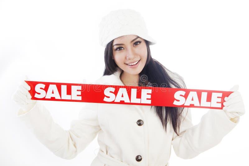 Zima sprzedaż (1) obraz royalty free