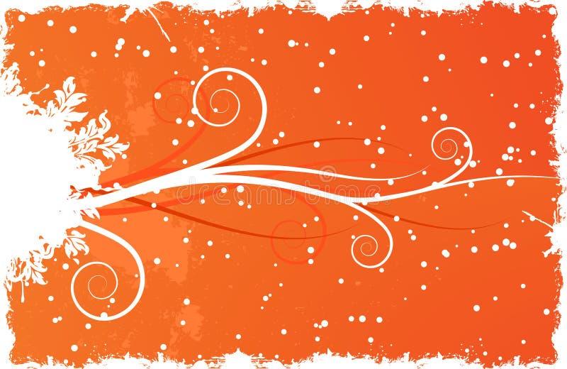 zima tło śniegu royalty ilustracja