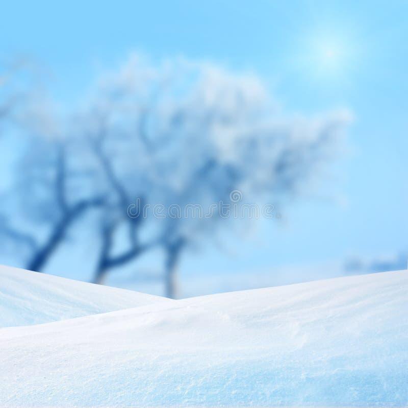 Zima tło obrazy stock