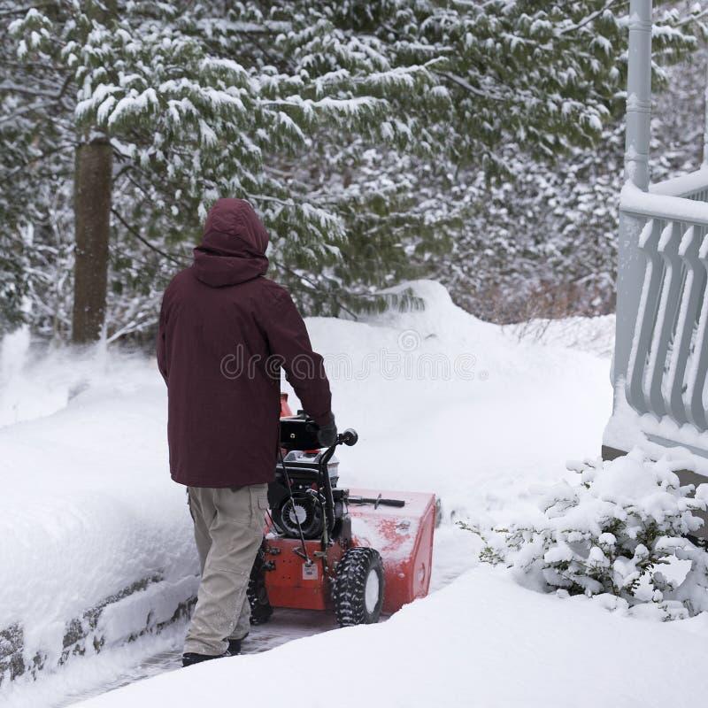 Zima trening obrazy stock