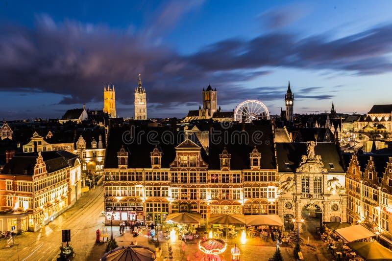 Zima w Ghent