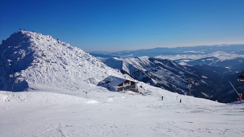 Zima w Tatrzańskich górach obraz royalty free