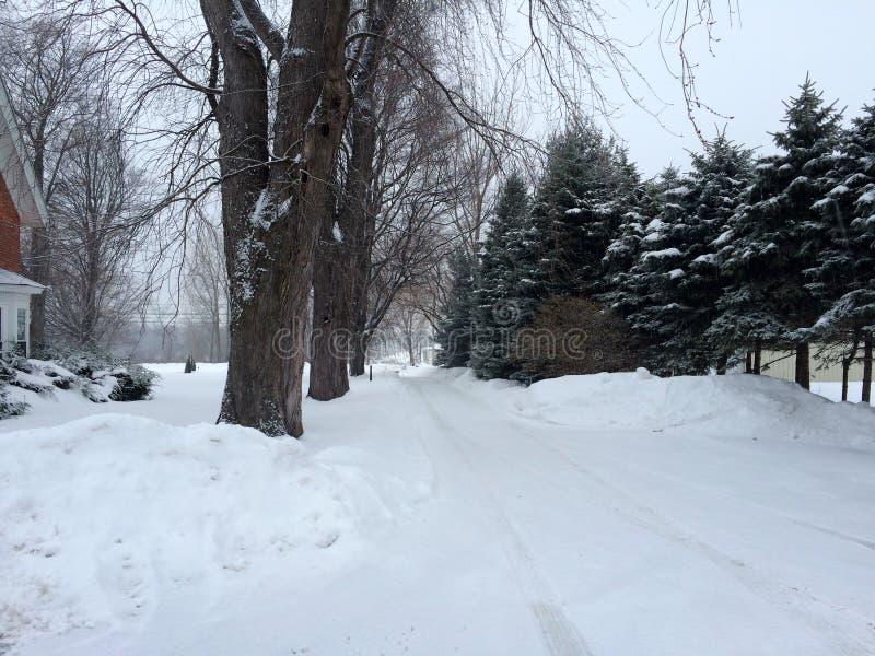 Zima w Westfield fotografia royalty free