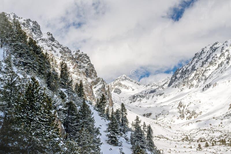 Zima w Wysokich Tatras górach fotografia royalty free