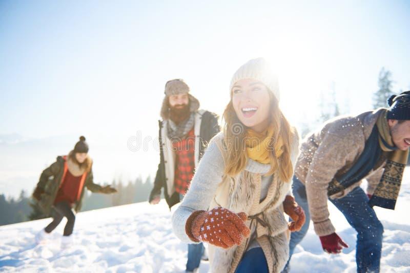 Zima wakacje zdjęcie stock