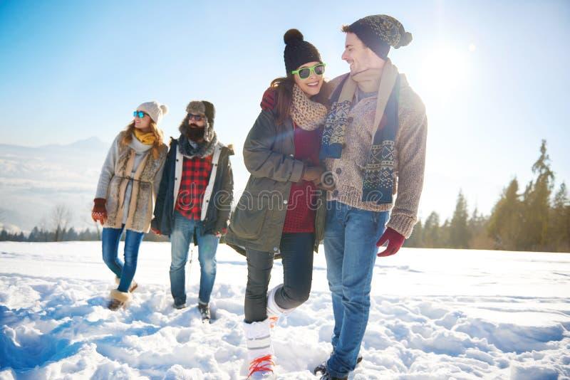 Zima wakacje zdjęcia stock