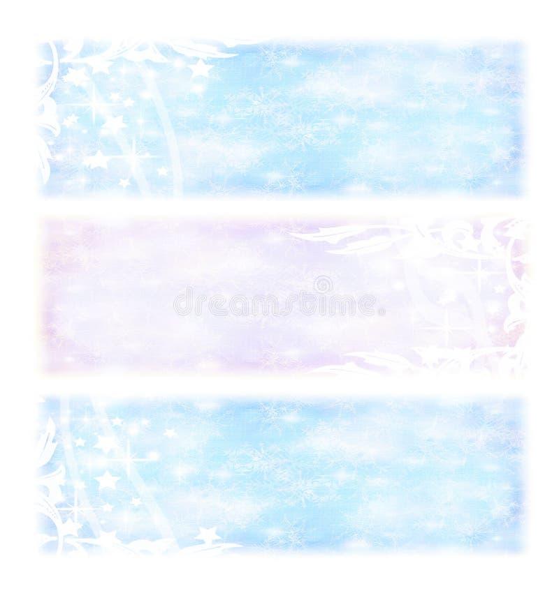 Download Zima wakacji sztandary ilustracji. Obraz złożonej z odosobniony - 22439473