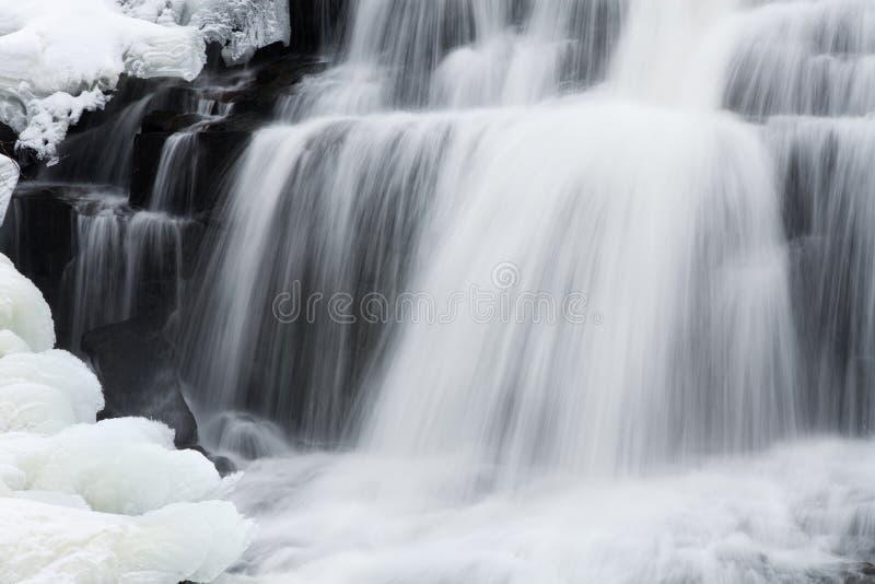 Zima, więź spadki zdjęcia stock