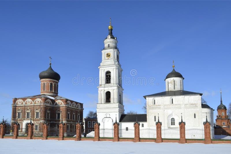 Zima widok Volokolamsk Moskwa Kremlowski region zdjęcie royalty free