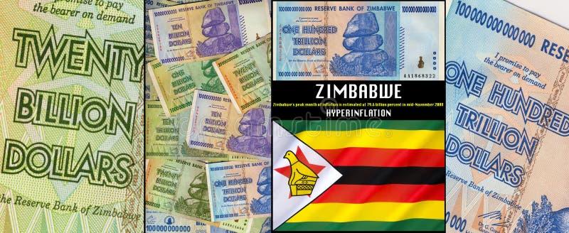 Zimbabwe - Hyperinflation royalty free stock image