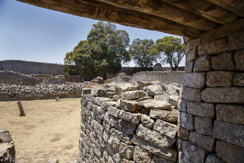 Zimbabwe wielkie Ruiny obrazy royalty free