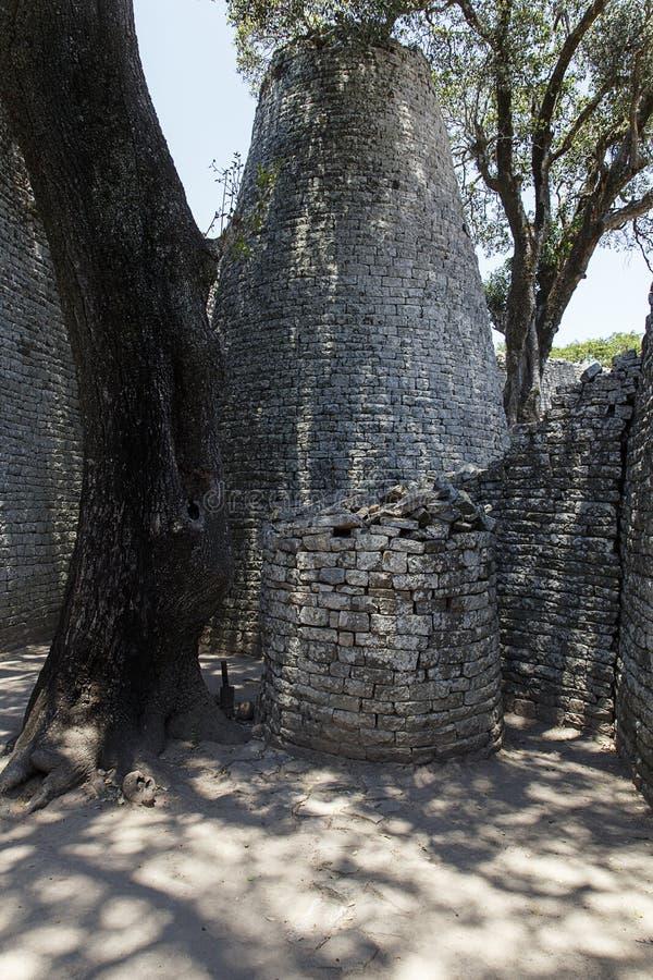 Zimbabwe wielkie Ruiny obraz stock