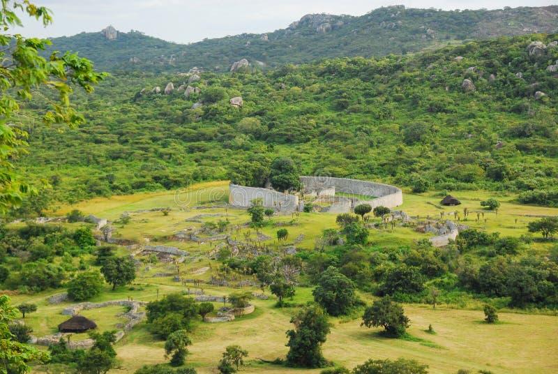 Zimbabwe wielkie Ruiny obraz royalty free