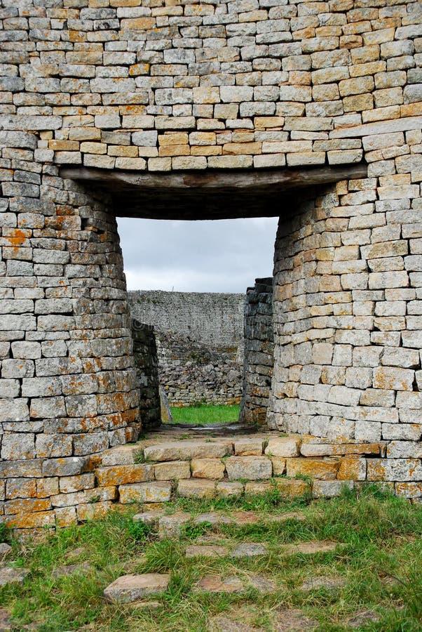 Zimbabwe wielkie Ruiny fotografia royalty free