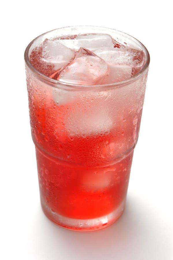 zimna drink3 lodu zdjęcia stock