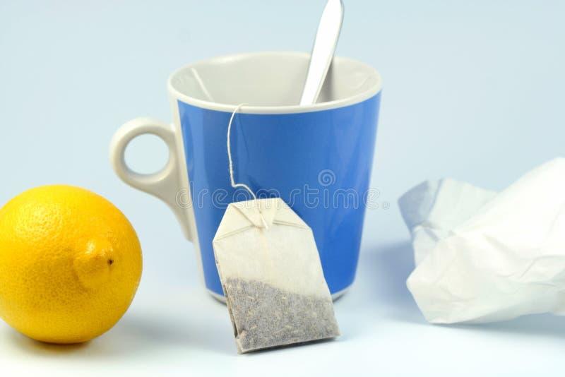 Download Zimna grypa obraz stock. Obraz złożonej z gorący, filiżanka - 6633265