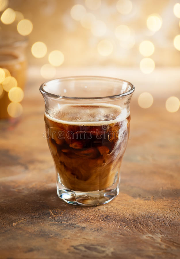 Zimna parzenie kawa zdjęcie stock