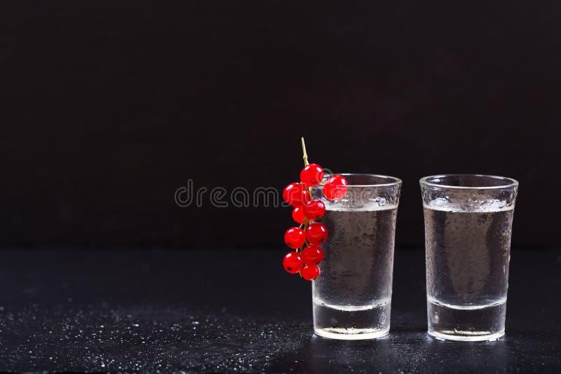 Zimni szkła ajerówka zdjęcia stock