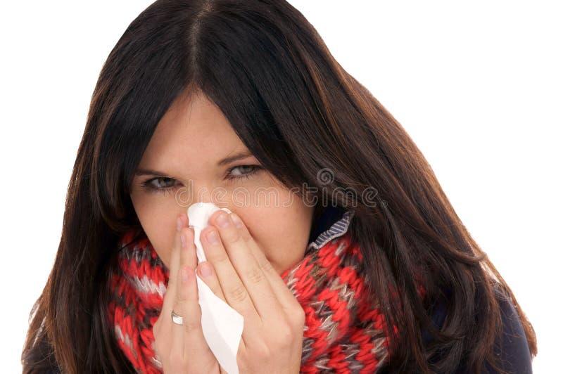 Download Zimno obraz stock. Obraz złożonej z femaleness, illnesses - 28968515