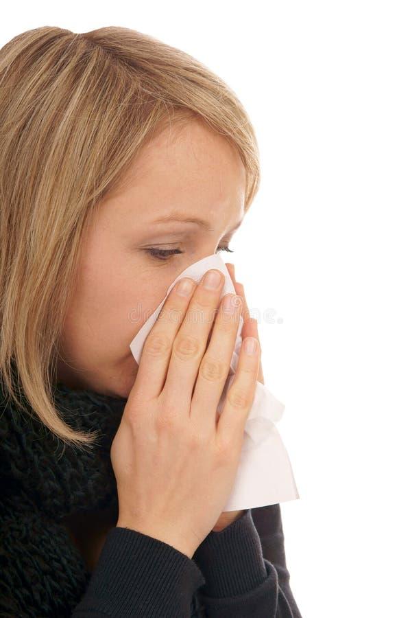Download Zimno obraz stock. Obraz złożonej z grypa, pacjent, femaleness - 28968681