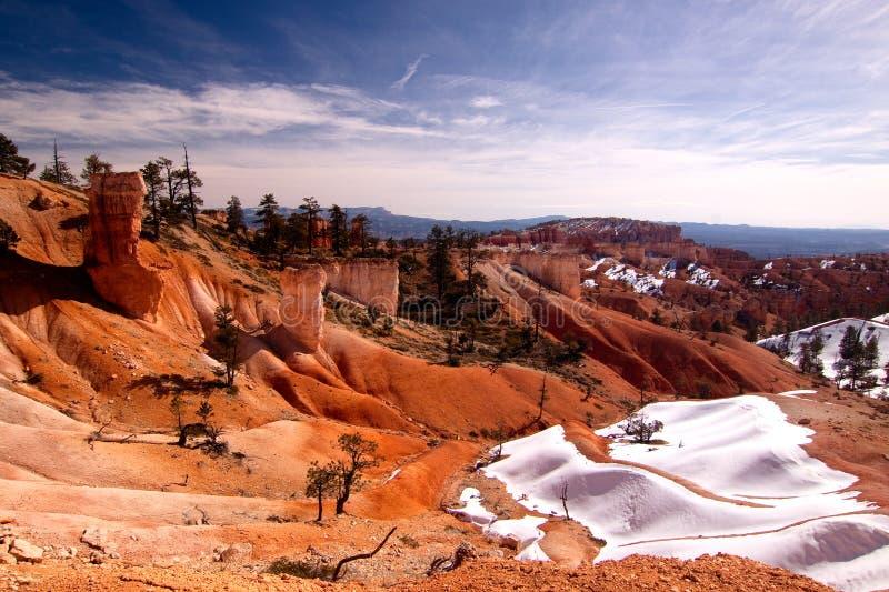 zimno pustynia obraz stock