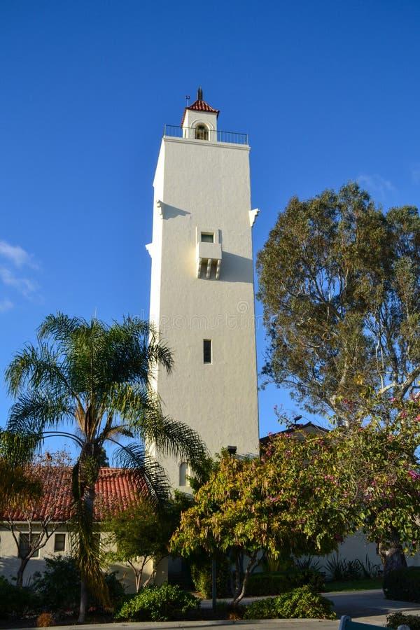 Zimnotrwały wierza przy San Diego stanu uniwersytetem & x28; SDSU& x29; zdjęcie stock