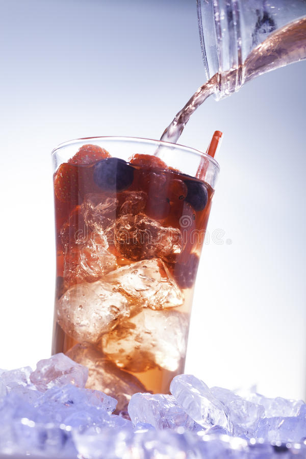 Zimny lato napój obrazy stock