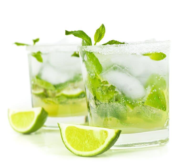 Zimny mojito napój obrazy stock