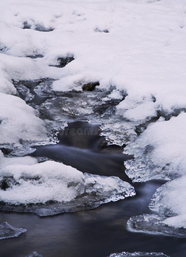 Zimny Ruch Bezpłatna Fotografia Stock