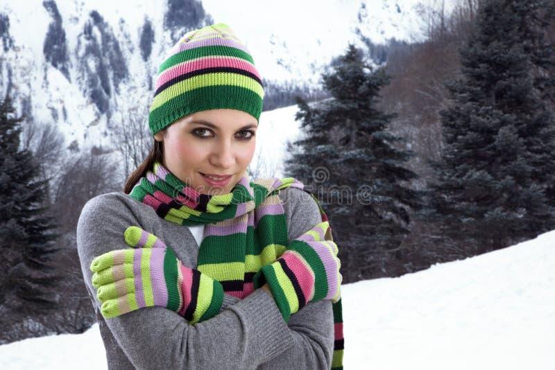 zimny uczucie fotografia stock