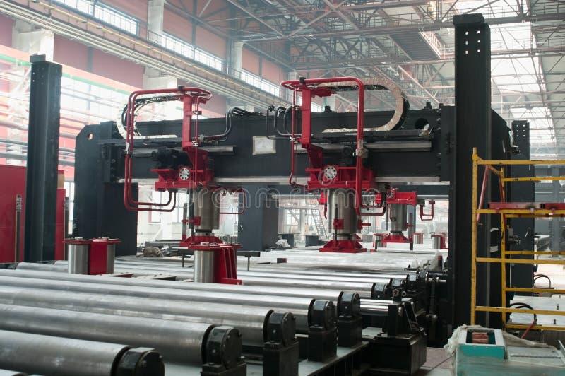 zimny wydziałowy fabryczny kołysanie się zdjęcie stock
