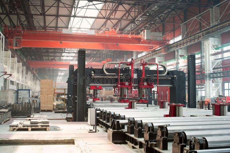 zimny wydziałowy fabryczny kołysanie się obrazy stock