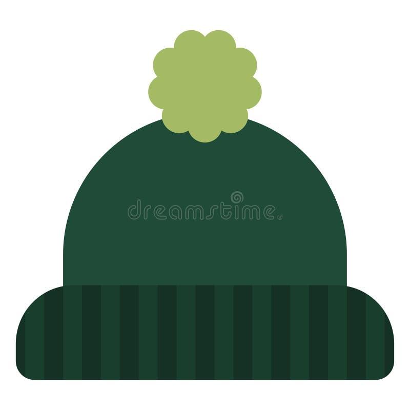 Zimy beanie kapelusz royalty ilustracja