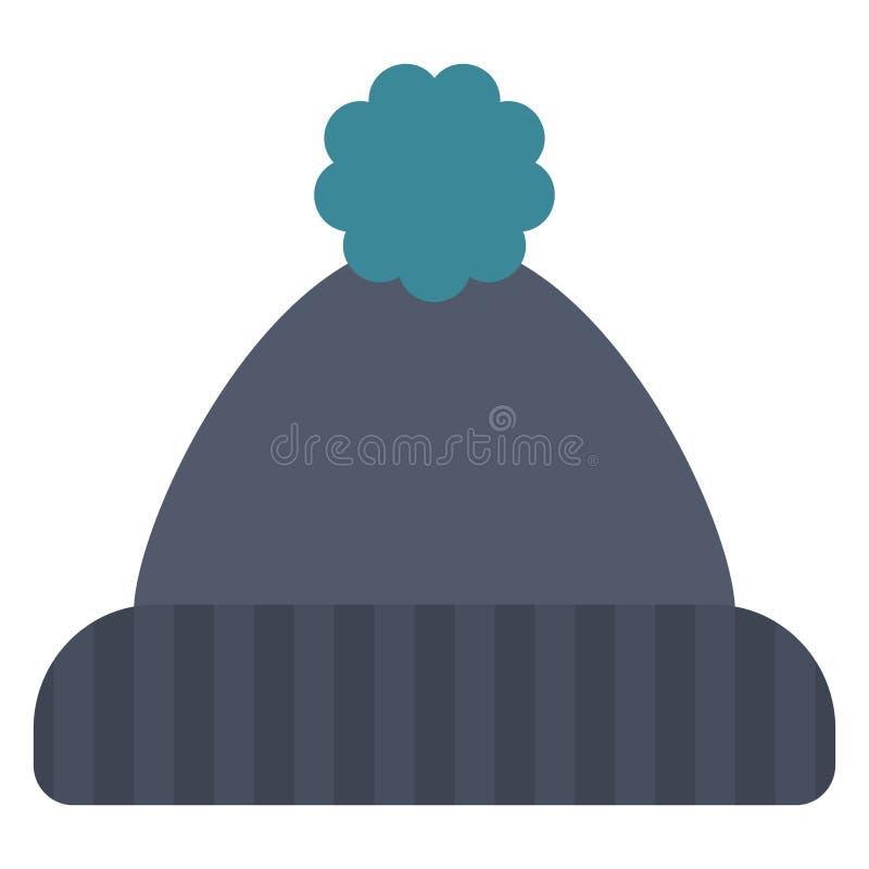 Zimy beanie kapelusz ilustracji