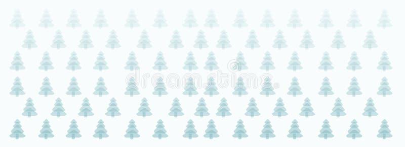 zimy drzewny tło, Wesoło boże narodzenia, nowego roku drzewo, pocztówka, wzoru projekt, nowy, 2019, sztandar, ilustracja wektor