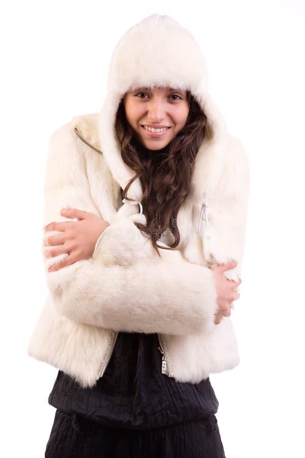 Zimy Dziewczyna Obrazy Stock