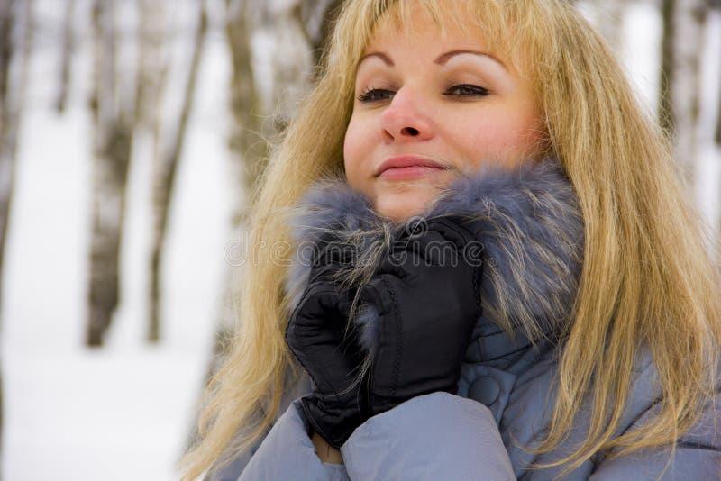 Download Zimy dziewczyna obraz stock. Obraz złożonej z dziewczyna - 28954355