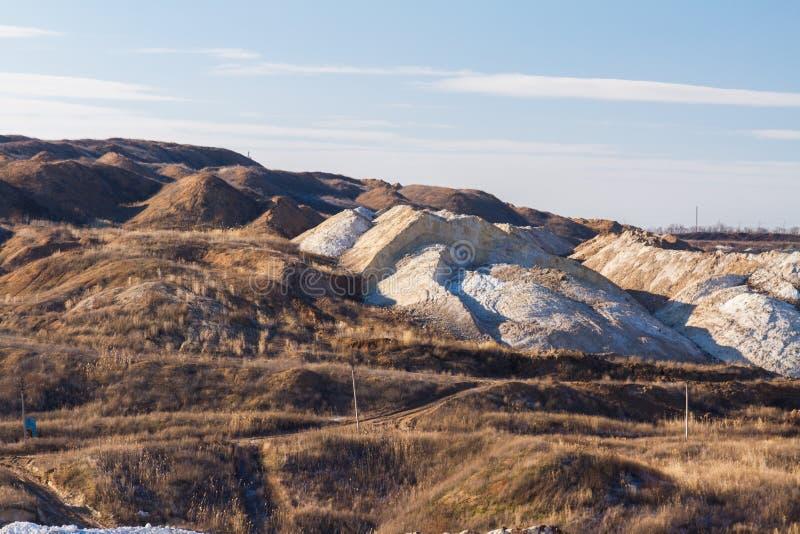 Zimy gliny łup obrazy stock