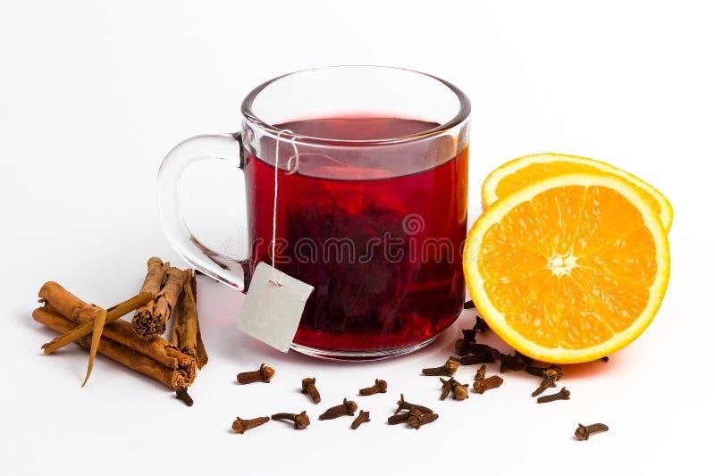 Zimy herbata zdjęcia stock