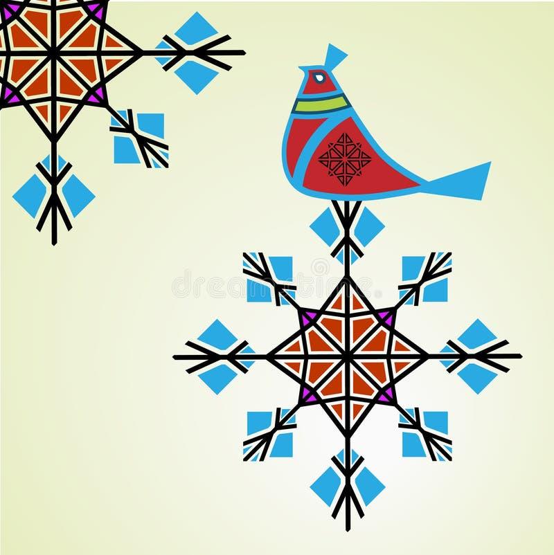 Zimy kuropatwa royalty ilustracja