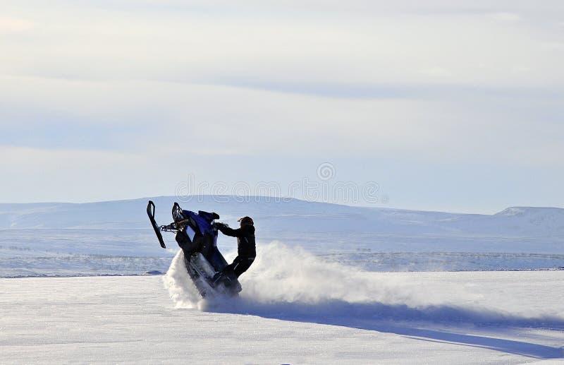 Zimy przygoda fotografia stock