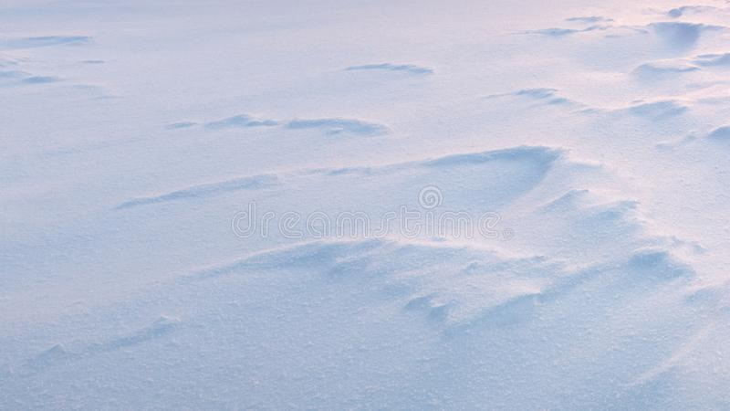 Zimy tła śnieżna błękitna biała tekstura zdjęcie royalty free