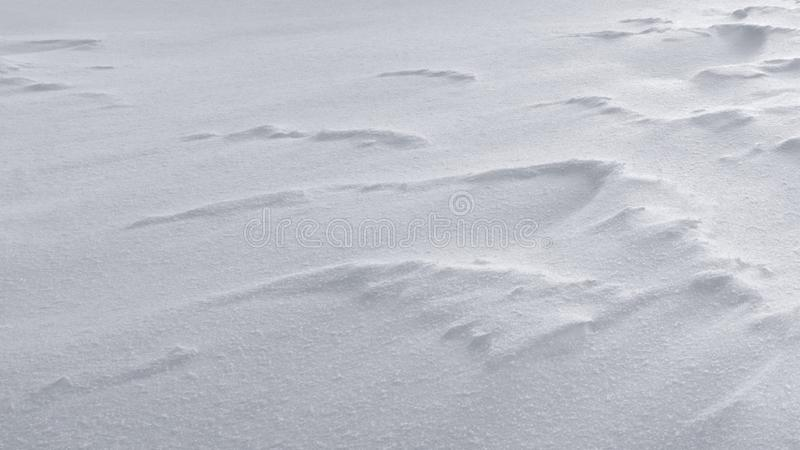 Zimy tła śnieżna biała tekstura zdjęcia royalty free