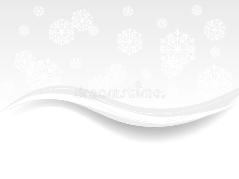 Zimy tło ilustracji