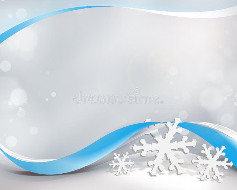 Zimy tło ilustracja wektor