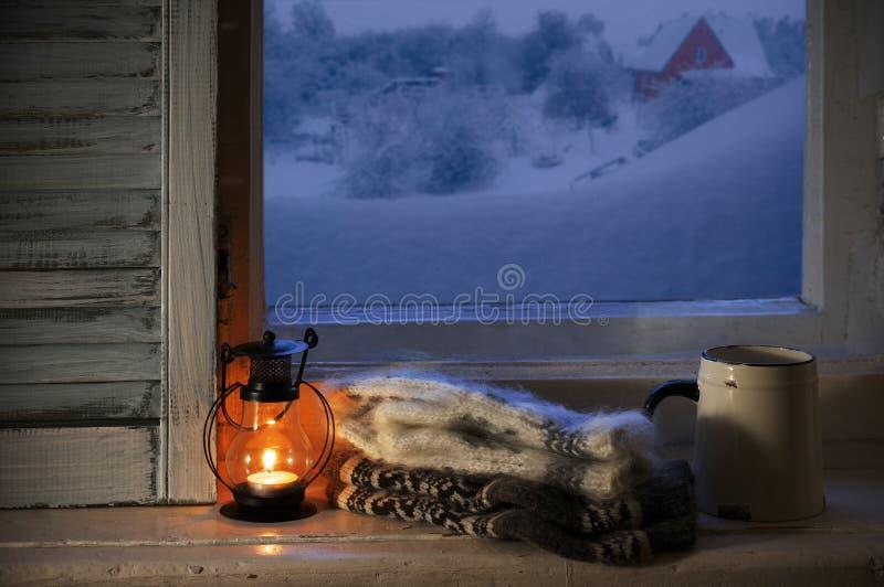 Zimy wygodny życie wciąż obrazy stock
